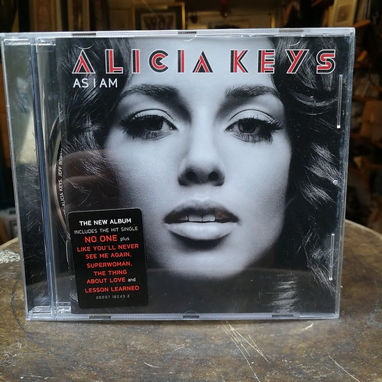 Alicia Keys Asiam CD