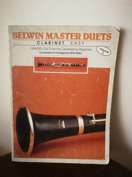 Belwin Master Duets Clarinet Easy Volume 2