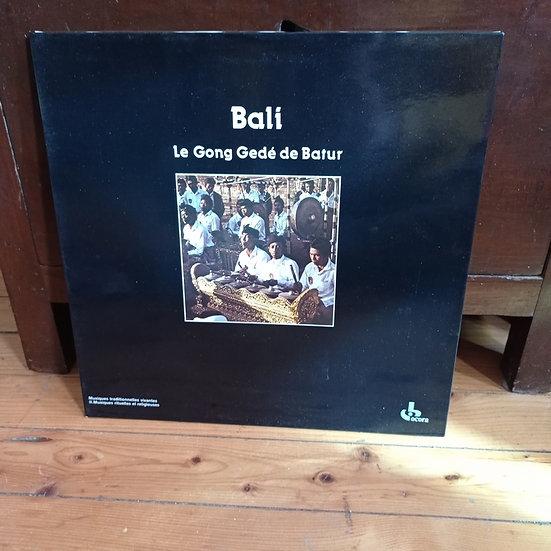 Bali Le Gong Gedé de Batur Plak LP