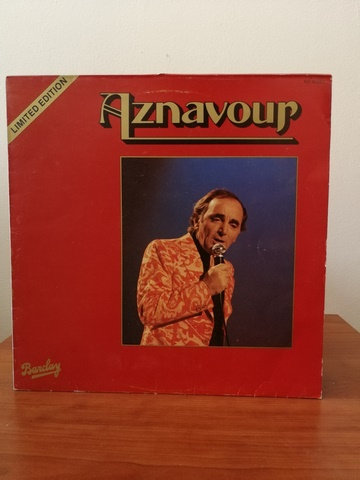 Charles Aznavour Limited Edition LP Plak