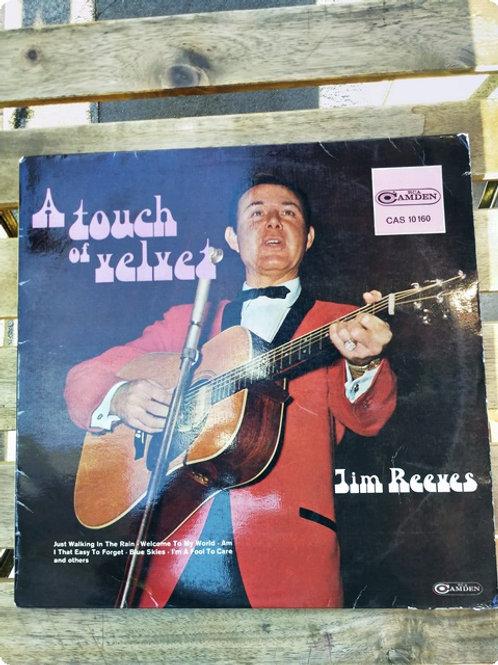 Jim Reeves- A Touch Velvet- Plak -LP