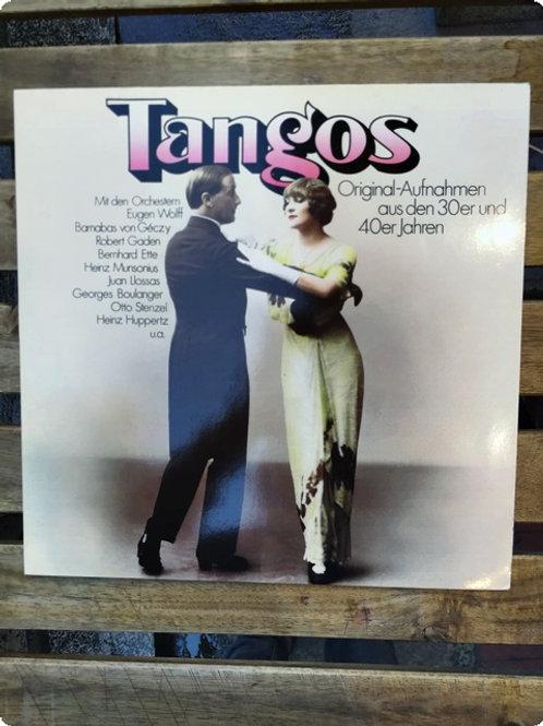 Tangos- Priginal-Aufnahmen aus den 30er und 40er jahren- Plak- LP