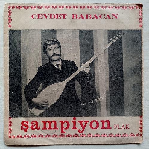 Cevdet Babacan şampiyon plak (SADECE KAPAK)