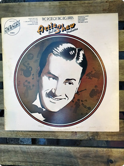 Artie Shaw and his Orchestra The Beat of The Big Band Plak- LP