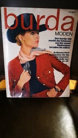 BURDA Moden Ağustos 1970 Sayı: 8