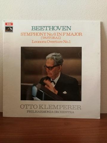 Beethoven Otto Klemperer LP Plak