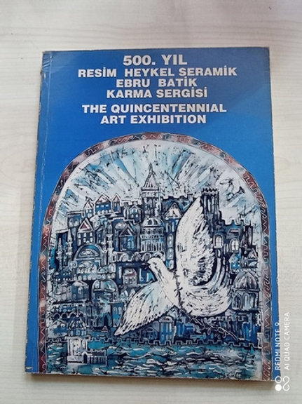 500.Yıl Resim Heykel Seramik Ebru Batik Karma Sergisi