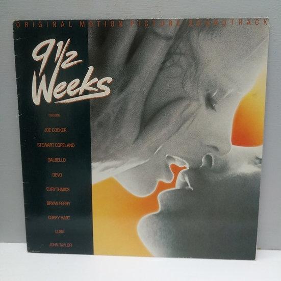 9½ Weeks (Original Motion Picture Soundtrack) LP Plak