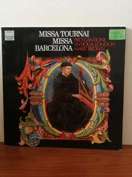 Missa Tournai Missa Bercelona