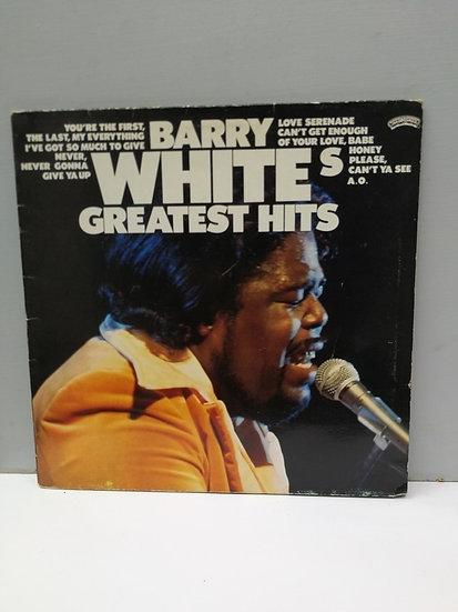 Barry White's Greatest Hits LP Plak
