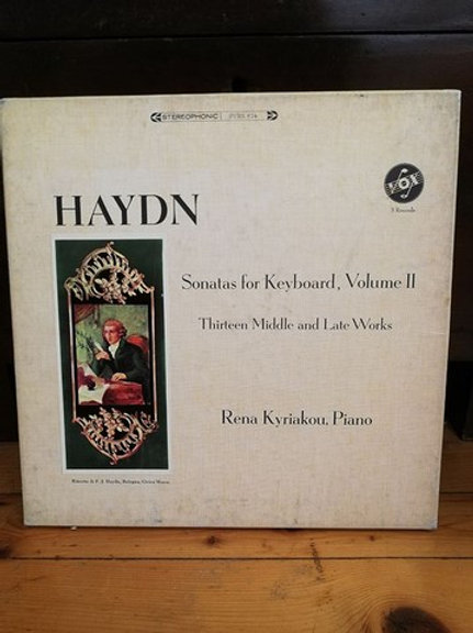 Haydn Sonatas for Keyboard, volume 3 Thirteen Middle and Late Works