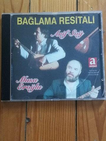 Arif Sağ Musa Eroğlu - Bağlama Resitali 2. EL