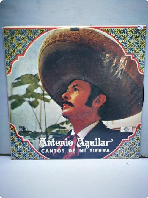 Antonio Aguilar- Cantos de mi tierra- Plak- LP