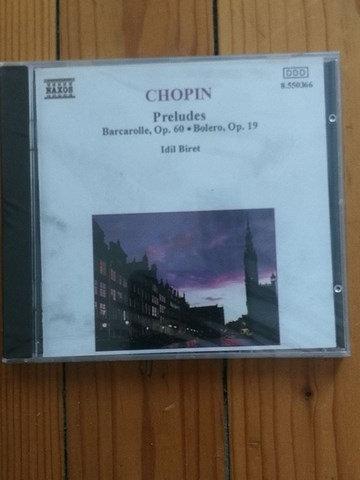 Chopin Peraludes (Ambalajında) KLASİK MÜZK CD