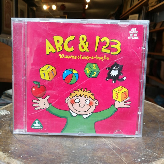 ABC and 123: 40 minutes of sing a long fun CD