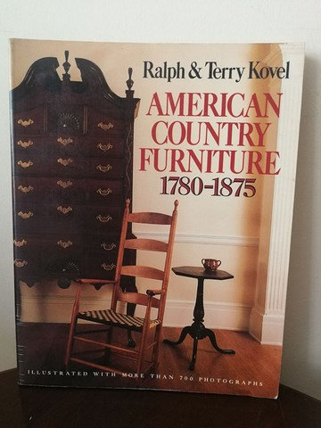 American Country Furniture 1780-1875