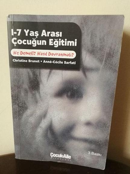 1-7 yaş arası çocuğun eğitimi