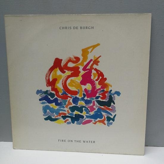 Chris de Buegh Fire on the water LP Plak