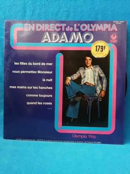 Adamo- En Direct de L'Olimpia