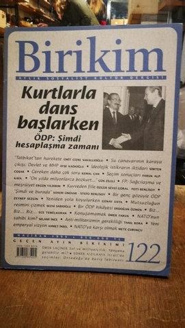 Birikim Aylık Sosyalist Kültür Dergisi Sayı: 122