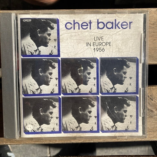 Chet Baker Live in Europe 1956 CD