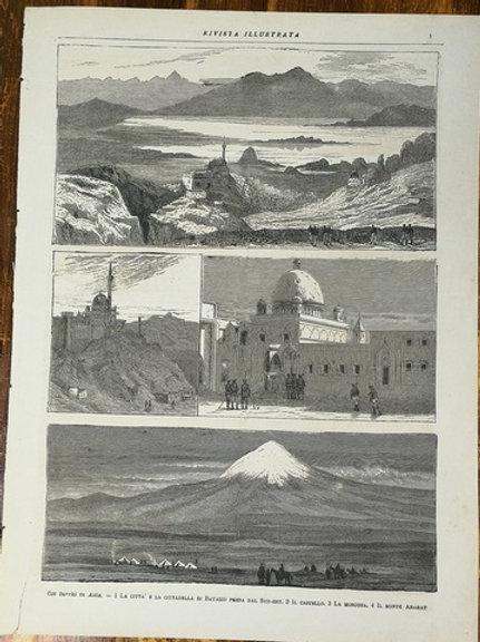 Doğubeyazıt,Kale , Cami,  Ağrı Dağı