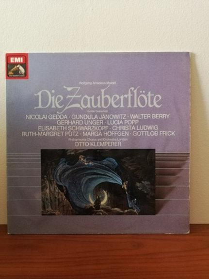 Wolfgang Amadeus Mozart * Die Zauberflöte- Otto Klemperer