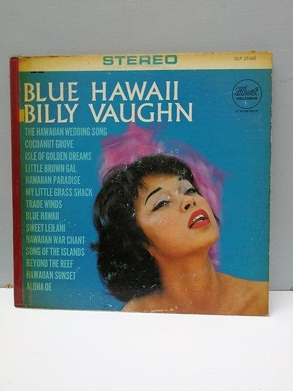 Billy Vaughn Blue Hawaii LP Plak