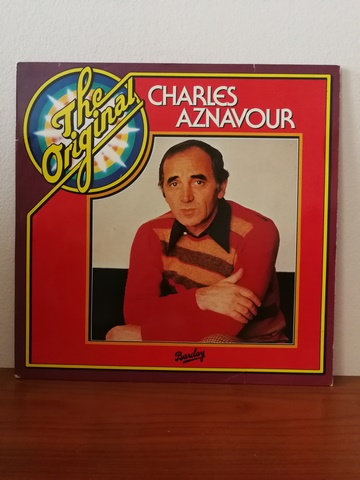 Charles Aznavour The Original LP Plak