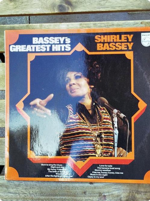 Shirley Bassey- Bassey's Greatest Hits- Plak- LP