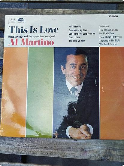 Al Martino- This is Love Plak - LP