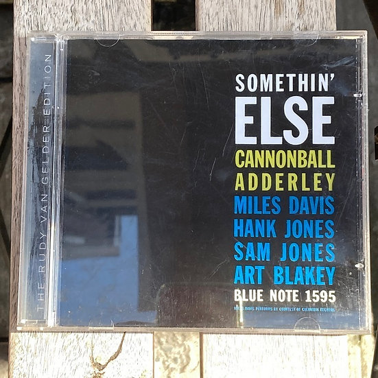 Cannonball Adderley Somethin' Else CD