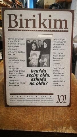 Birikim Aylık Sosyalist Kültür Dergisi Sayı: 101
