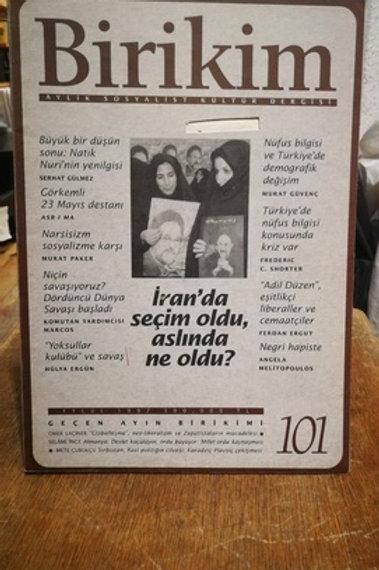 Birikim Aylık Sosyalist Kültür Dergisi Sayı : 101