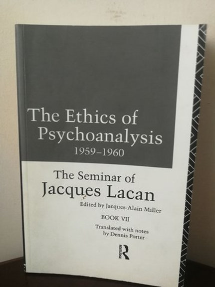 The Ethics of Psychoanalysis 1959-1960: