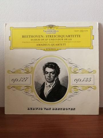 Beethoven Amadeus Quartet LP Plak