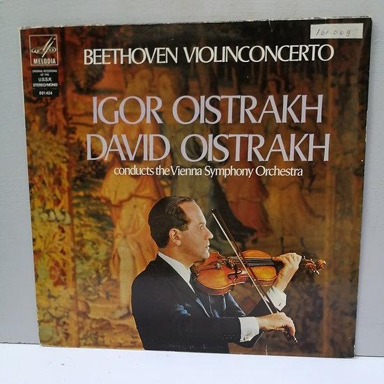Beethoven Violinconcerto Igor Oistrakh David Oistakh LP Plak