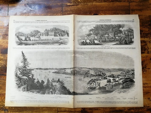 Boğaziçi, Haliç, İstanbul ,Bosforo Corno d'oro Lido Europeo Lido Asiatica