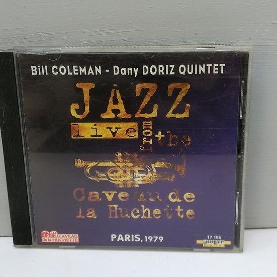 Bill Coleman Dany Doriz Quintet Live at the Caveau CD