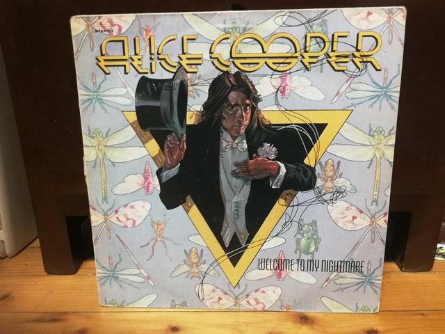 Alice Cooper Welcome To My Nightmare LP Plak