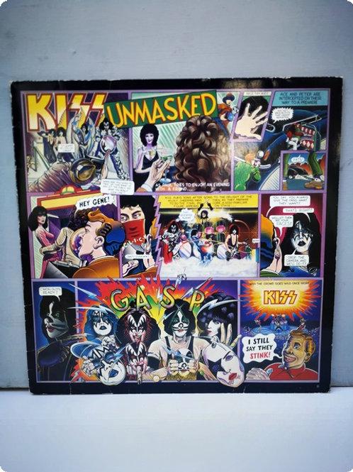 Kiss- Unmasked- Plak- LP