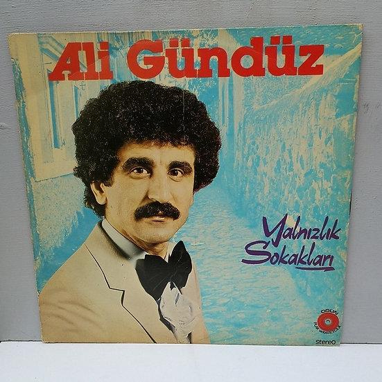 Ali Gündüz Yalnızlık Sokakları LP Plak