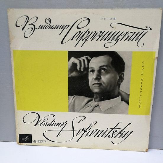 C. Debussy A. Liadov F. Blumenfeld S. Prokofiev LP Plak