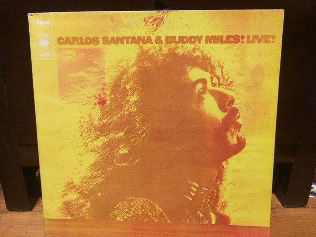 Carlos Santana & Buddy Miles Live LP Plak