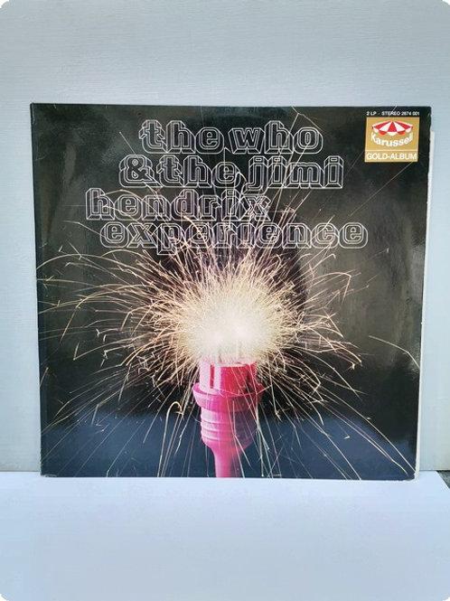 Tho Who - The jimi Hendrix experıence- Plak LP