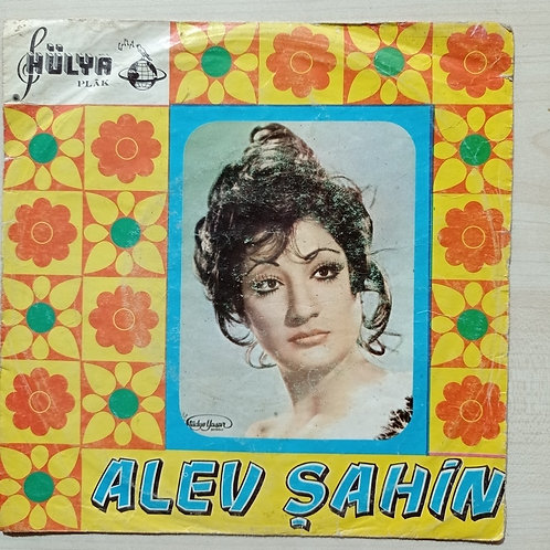 Alev Şahin Hülya plak 45'lik (SADECE KAPAK)