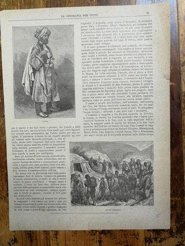 Bir Kürt Portresi- Ermeniler / gravür