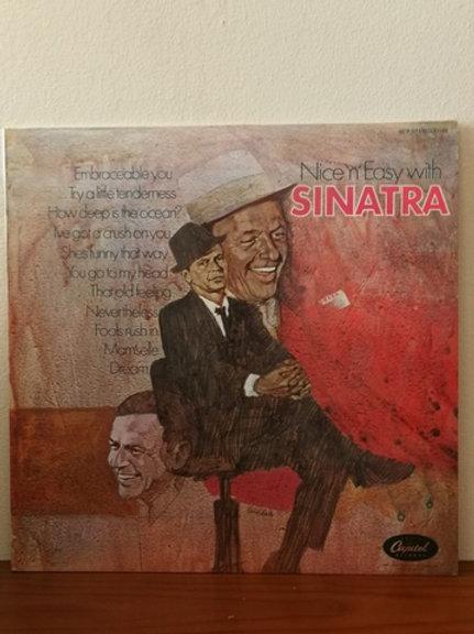 "Frank Sinatra- Nice ""n""  Easy with Sinatra"