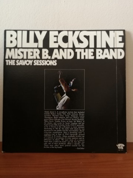 Billy Eckstine Mister B and The Band The Savoy Sessions 2 Plak