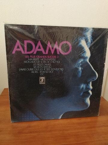 Adamo Les Plus Grands Succes LP Plak